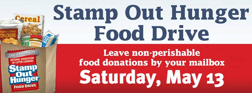 national association of letter carriers food drive