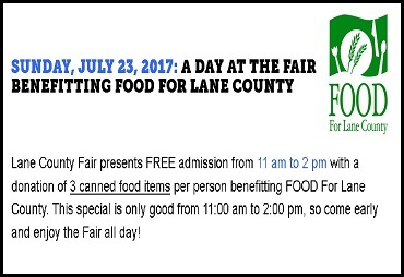 A Day at the Fair Benefitting FOOD for Lane County - FOOD For Lane County