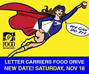 this important food drive brings in thousands of pounds of shelf stable food and stocks pantry shelves with much needed staples like peanut butter
