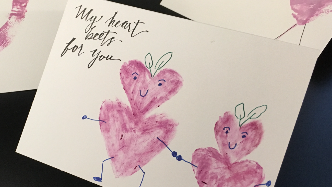Unique Handmade Valentine S Cards Support The Grassroots Garden