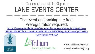 event details - FOOD For Lane County