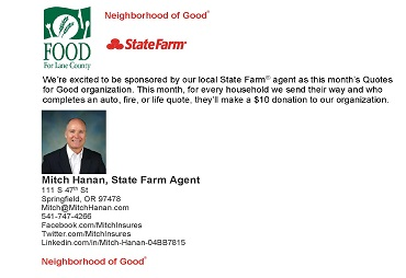 Community Supported Agriculture - FOOD For Lane County