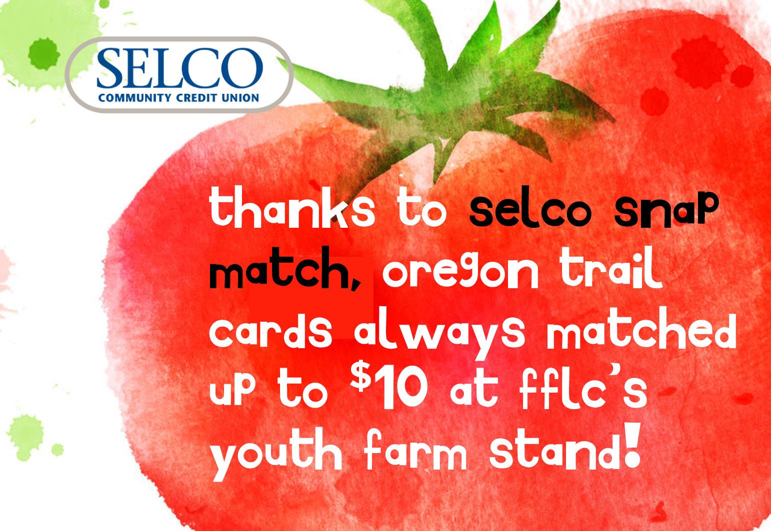 selco snap match program