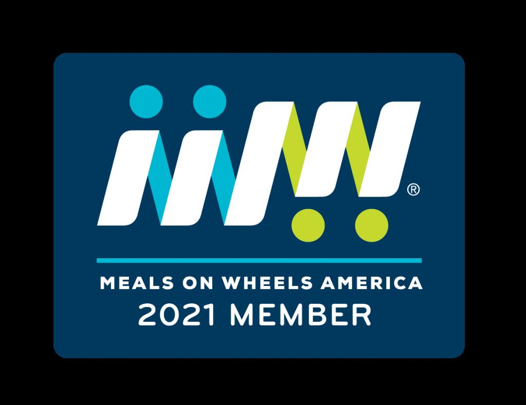 meals on wheels america 2021 member badge